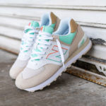 New Balance 574 Moonbeam Neo Mint