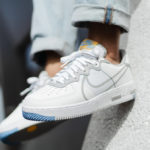 Nike Air Force 1 React D/MS/X White Light Smoke Grey University Gold