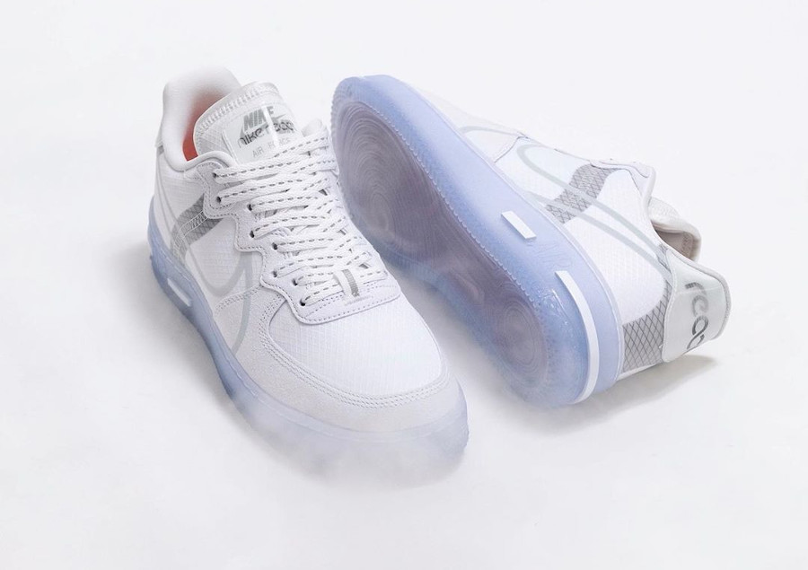 Nike Air Force 1 React QS DMSX White Ice (1)