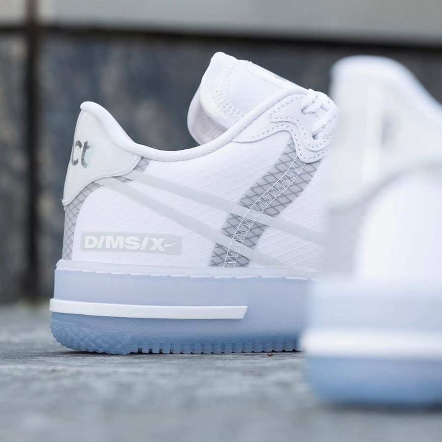 Nike Air Force 1 React QS DMSX White Ice (5)