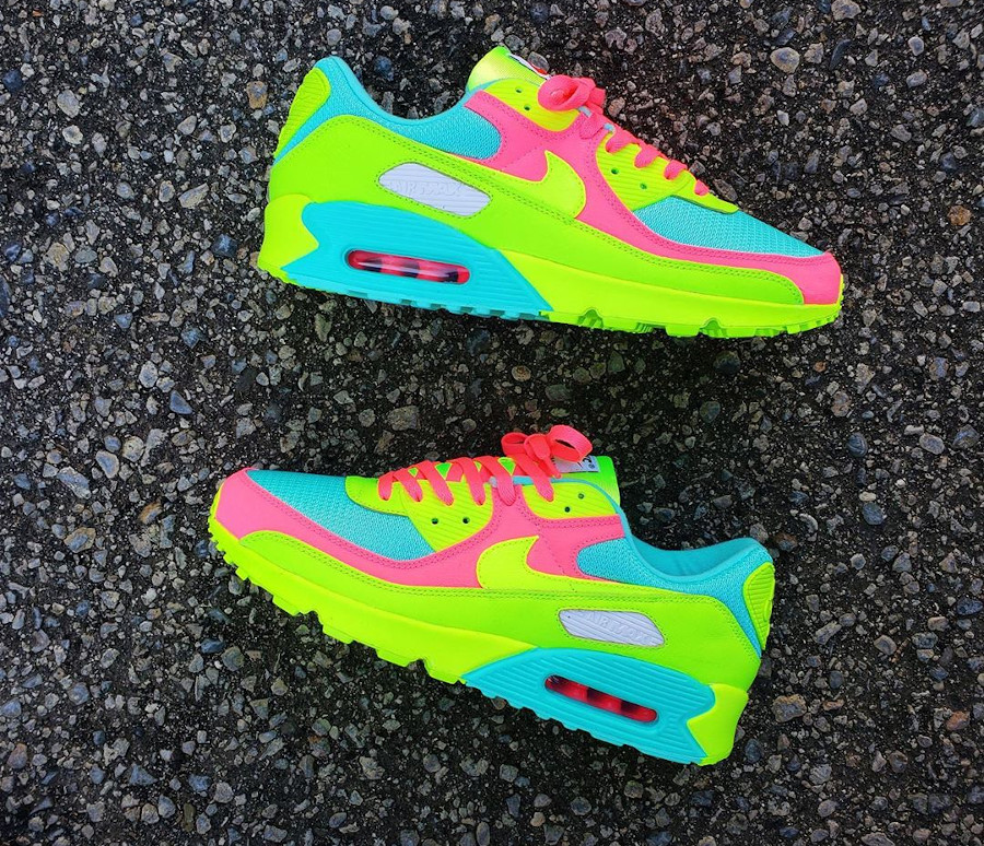Nike Air Max 90 By You - @marcus_mcmahan