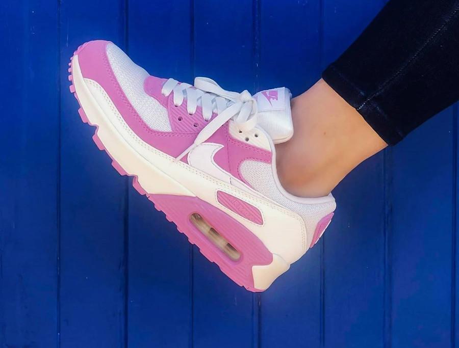 Nike Air Max 90 By You rose Flamingo Pink - @yasi_loves_kicks