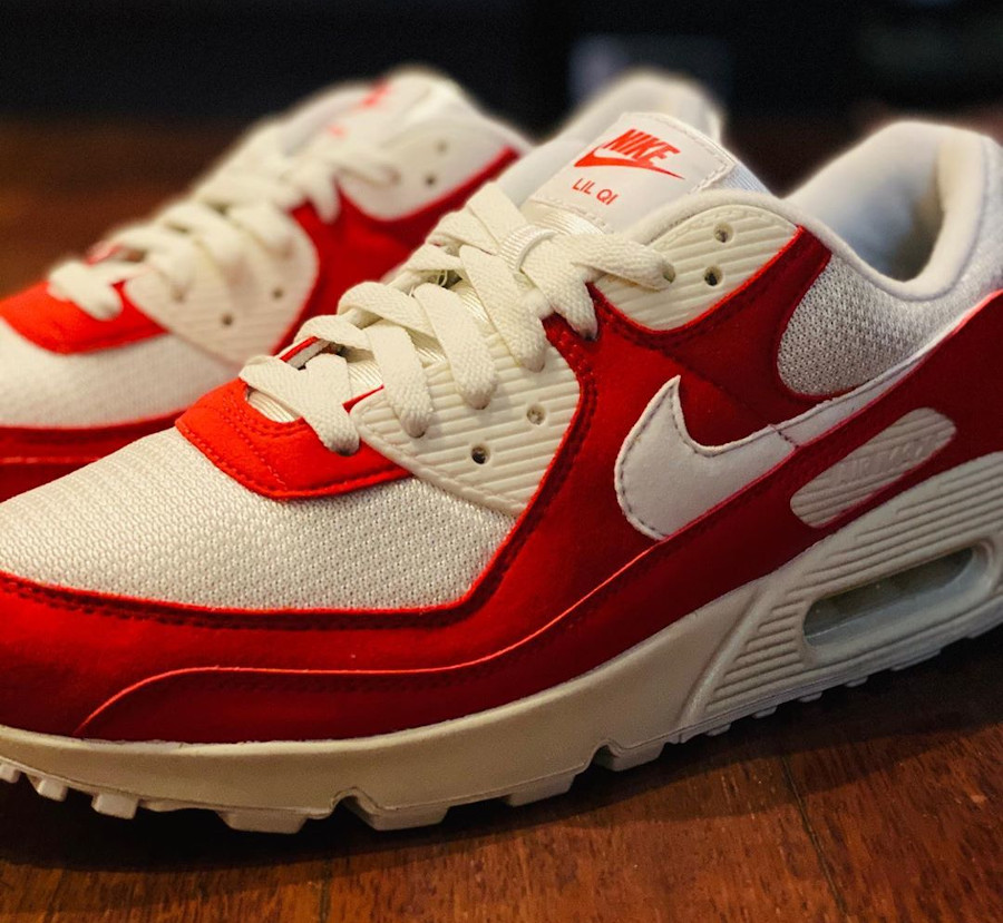 Nike Air Max 90 By You OG Red - @lilqii