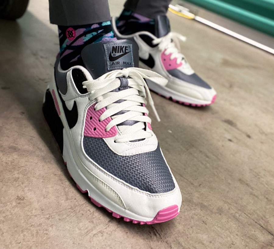 Nike Air Max 90 By You Steel Grape - @zapatero1975