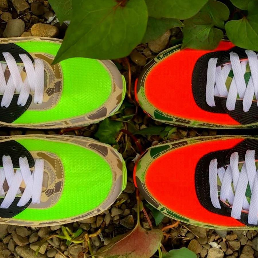 Nike Air Max 90 SP Ghost Green Duck Camo CW4039-300