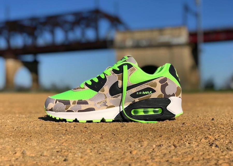 Nike Air Max 90 SP Volt Green Camo (1)