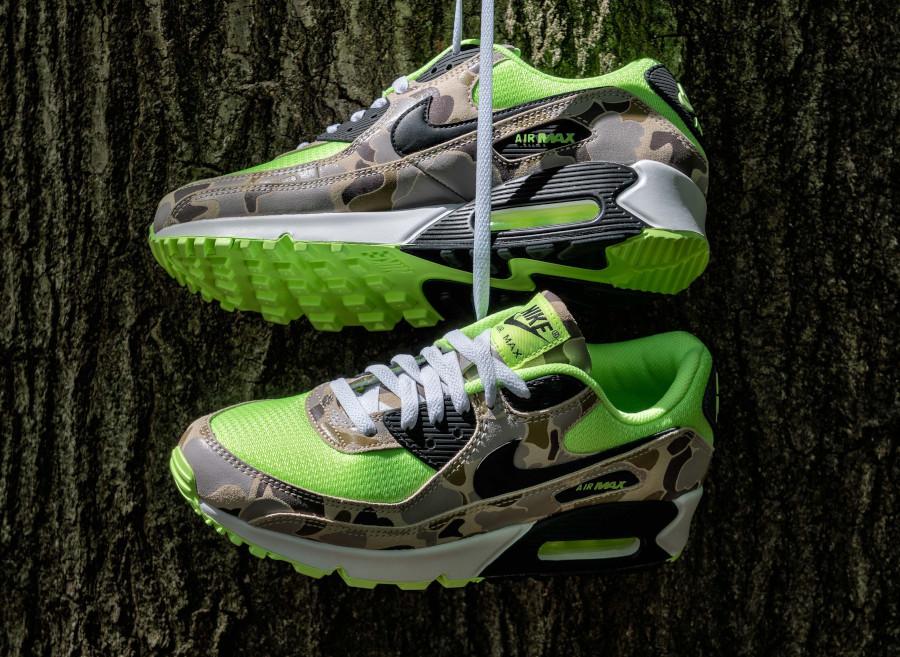 Nike Air Max 90 SP Volt Green Camo (3)