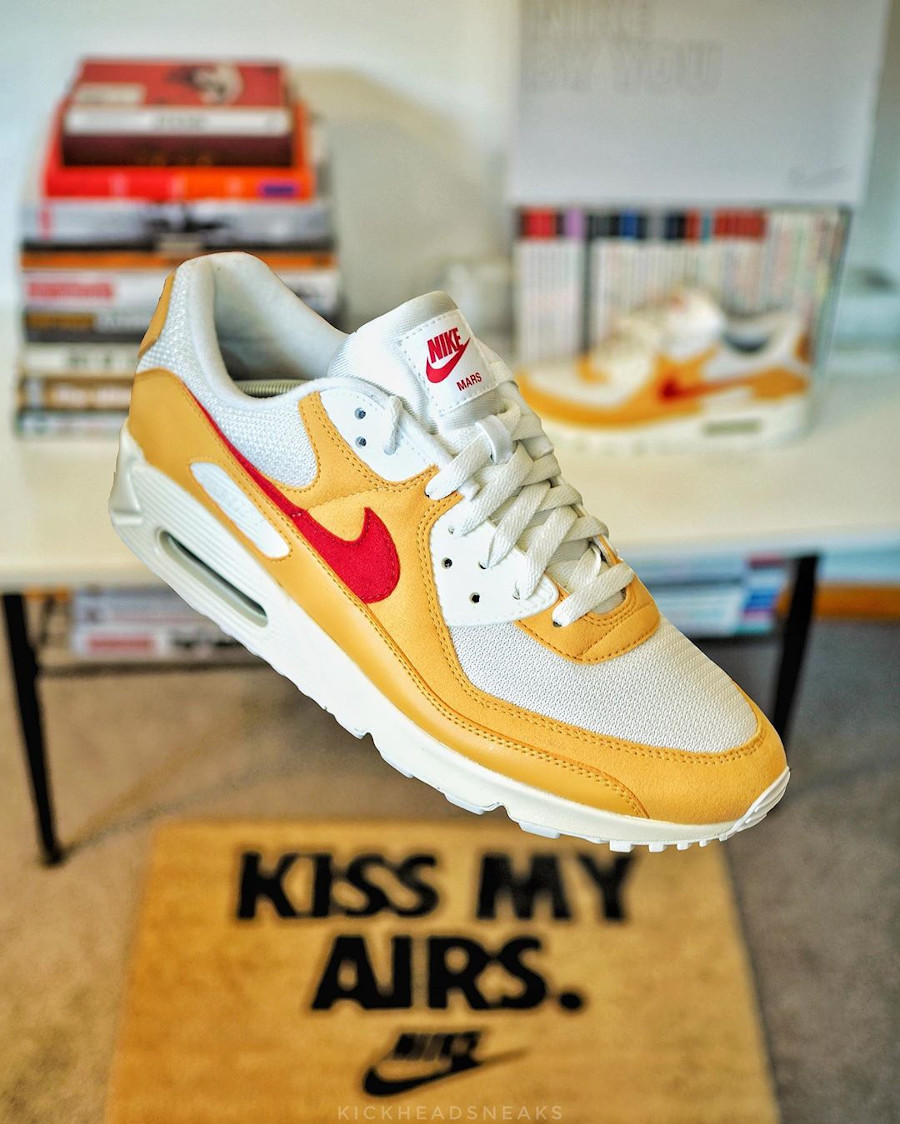 Nike Air Max 90 by You Mars Yard - @kickheadsneaks
