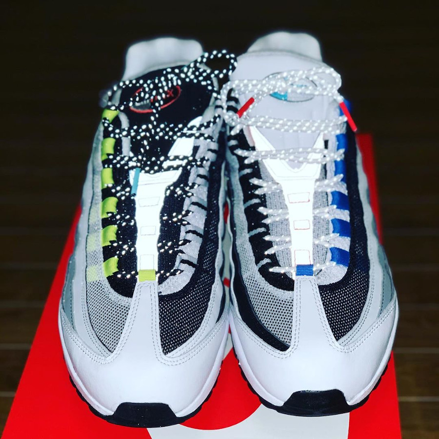 Nike Air Max 95 Split 3M reflective