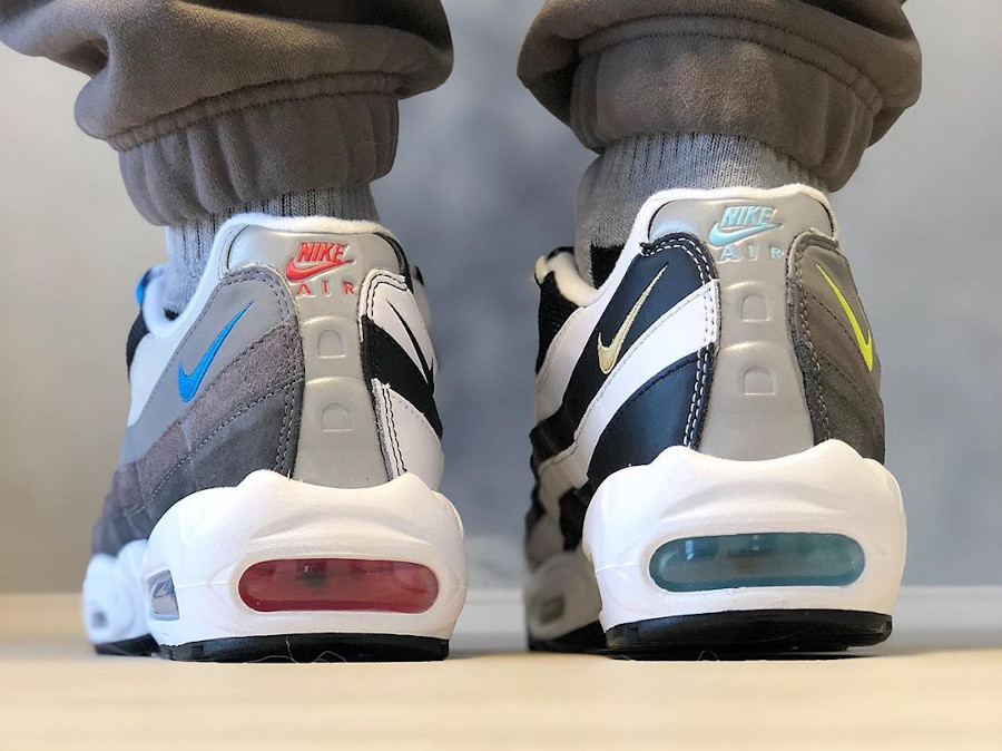 Nike Air Max 95 Split on feet (1)