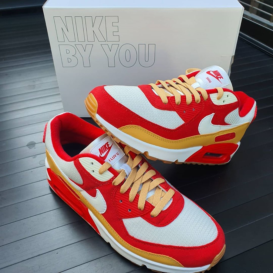 Nike Air Max By You Ironman - @shauntantiu