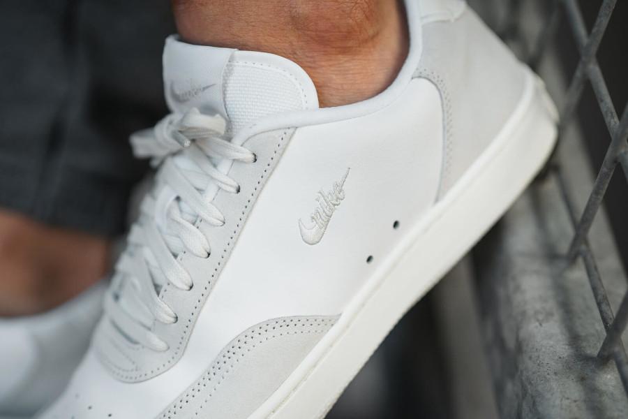 Nike Court Vintage Premium Platinum Tint Sail White (4)