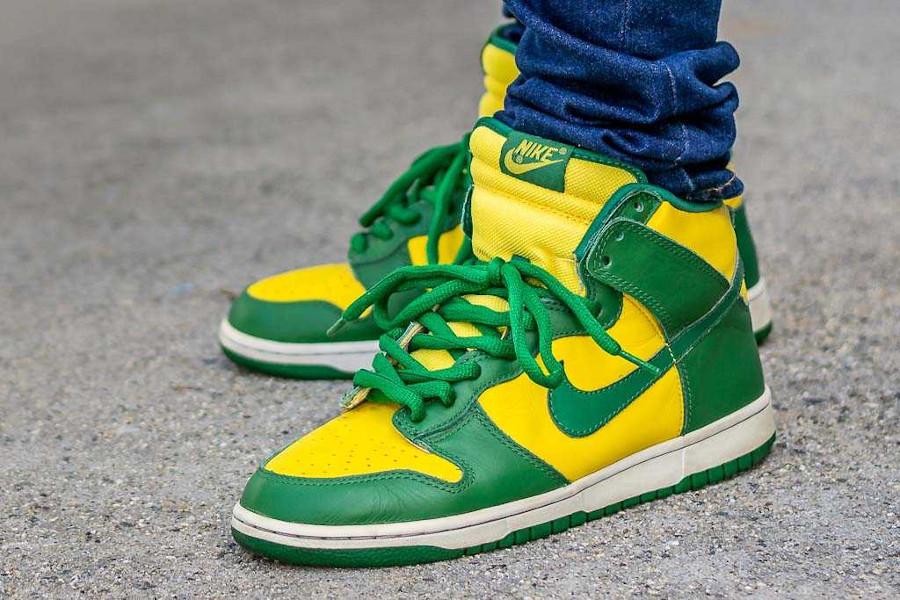 Nike Dunk High Brazil 2003