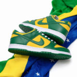 Nike Dunk low 'Brazil' Varsity Maize Pine Green 2020