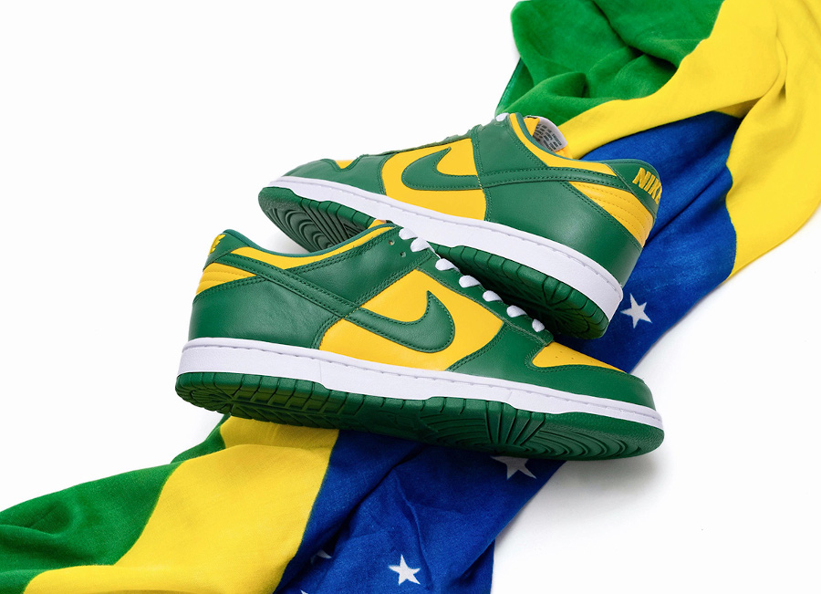 Nike Dunk Low SP Brazil 2020 CU1727-700