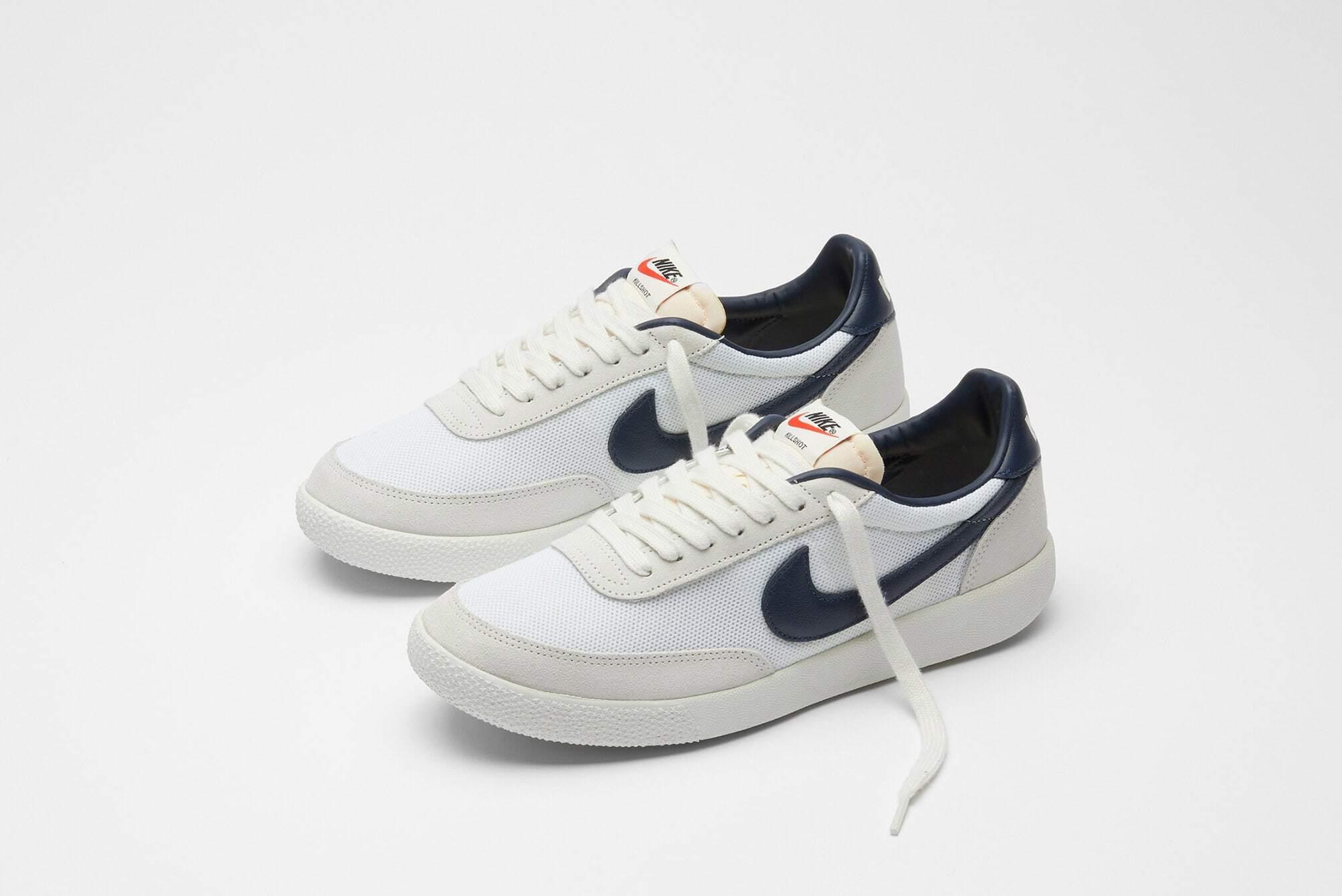 Nike Killshot vintage blanc cassé et bleu marine (3)