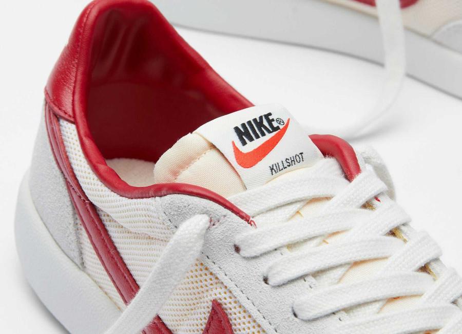 Nike Killshot vintage blanche et rouge (3)
