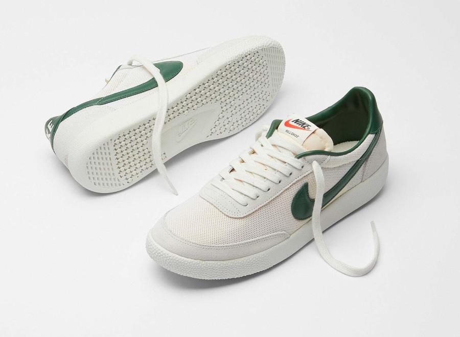 Nike Killshot vintage blanche et verte (1)