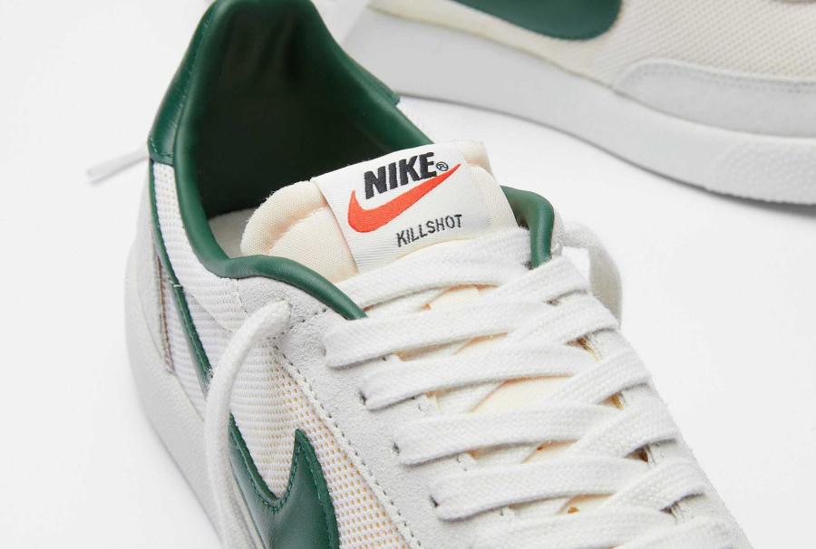 Nike Killshot vintage blanche et verte (5)