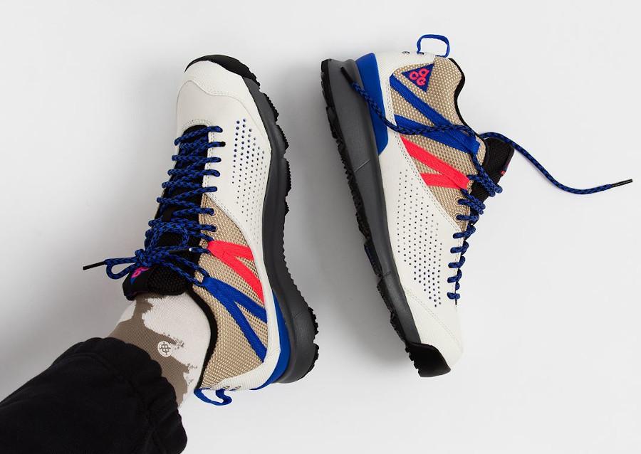 Nike Okwahn II Sail Racer Blue pas cher