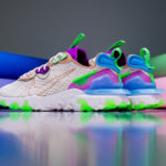 Nike Wmns React Vision DMSX Fossil Vachetta Tan Vivid Purple