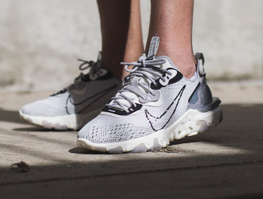 Nike React Vision Dimsix Grise 'Vast Grey' CD4373-005