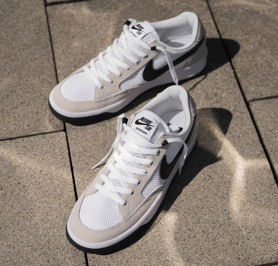 Que vaut la Nike SB Adversary White Black CJ0887 100 ?