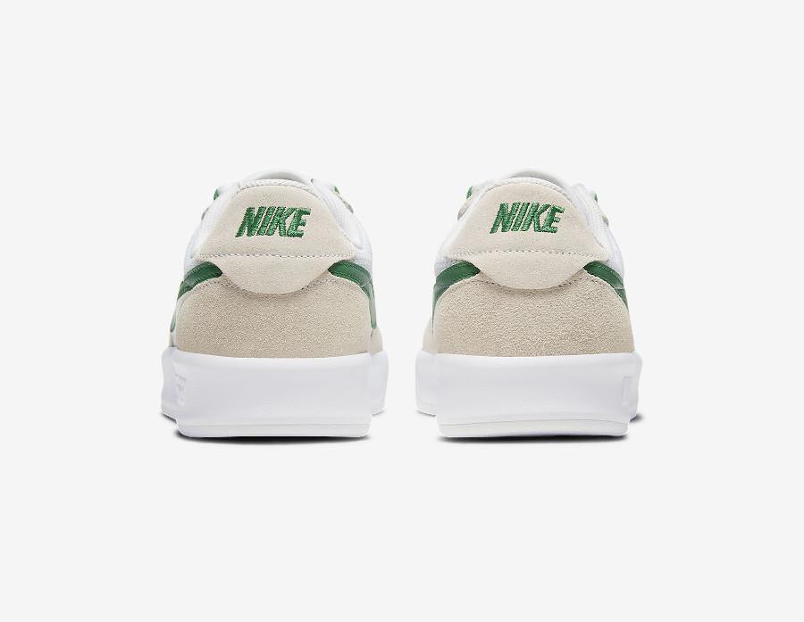 Nike SB Adversary blanche grise et verte (2)