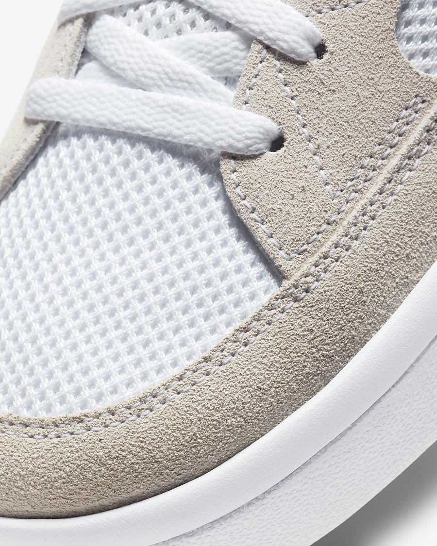 Nike SB Adversary blanche grise et verte (3)
