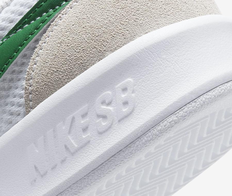 Nike SB Adversary blanche grise et verte (4)