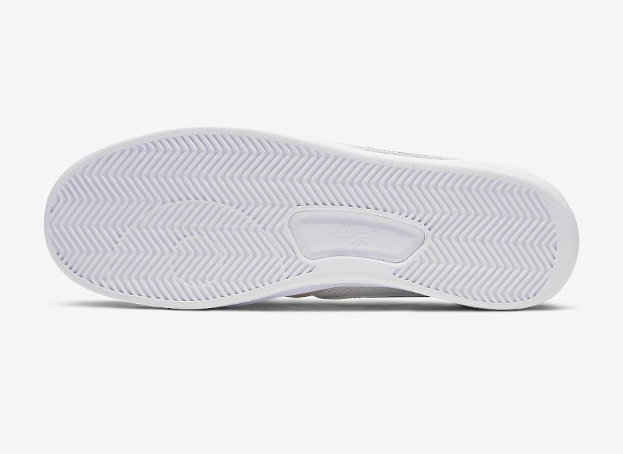 Nike SB Adversary blanche grise et verte (6)