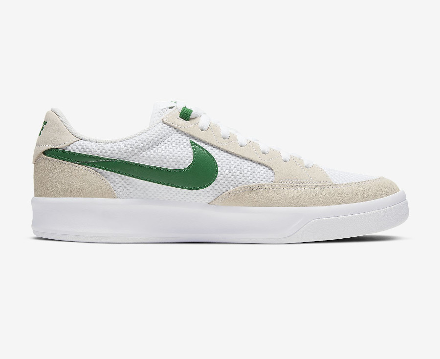Nike SB Adversary blanche grise et verte (7)