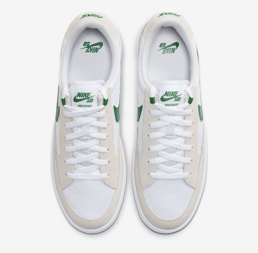 Nike SB Adversary blanche grise et verte (8)