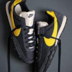 Nike Waffle Racer Obsidian Chrome Yellow