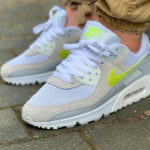 Nike Wmns Air Max 90 'White Lemon Venom'