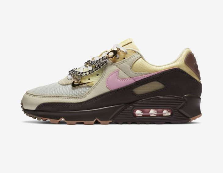 Nike Wmns Air Max 90 Velvet Brown
