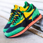 Puma Future Rider Game On 'Rasta' Amazon Green Black Spectra Yellow
