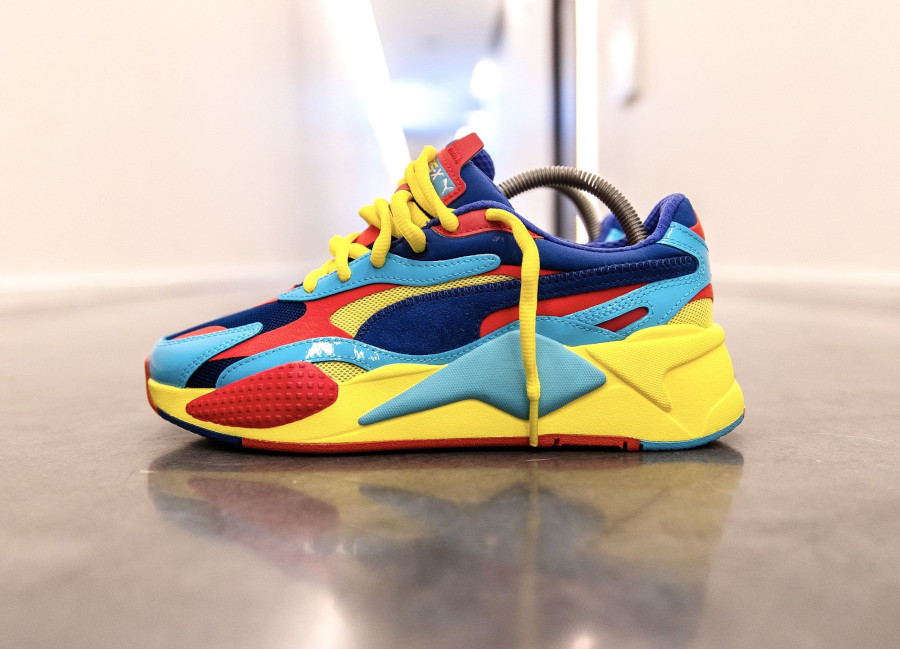 Puma RS-X3 Plastic Multicolor Limoges Red 371569-06