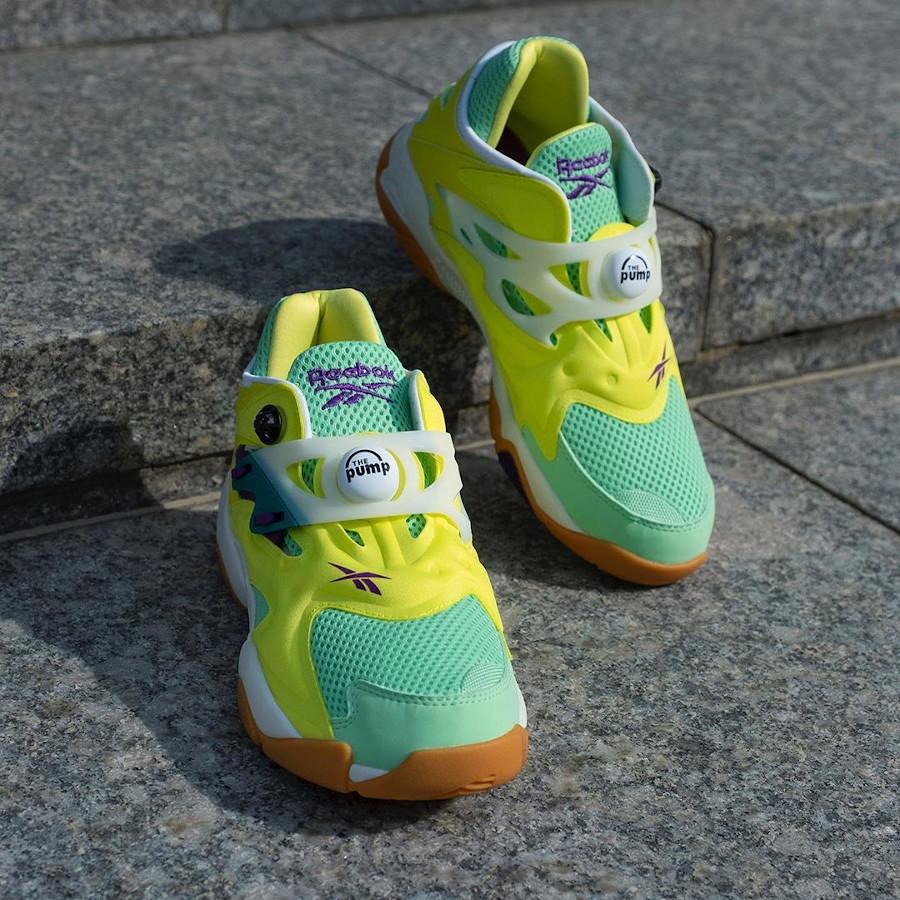 Reebok Pump Court Hero Yellow Seafoam Green Chalk (1)