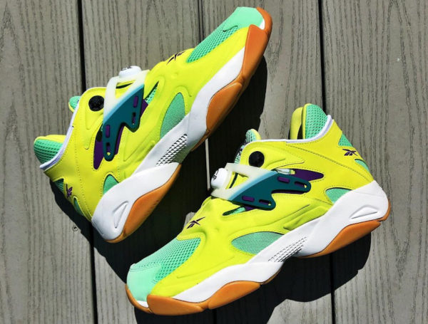 Reebok Pump Court OG Volt Yellow Seafoam Green FV7901 (couv)