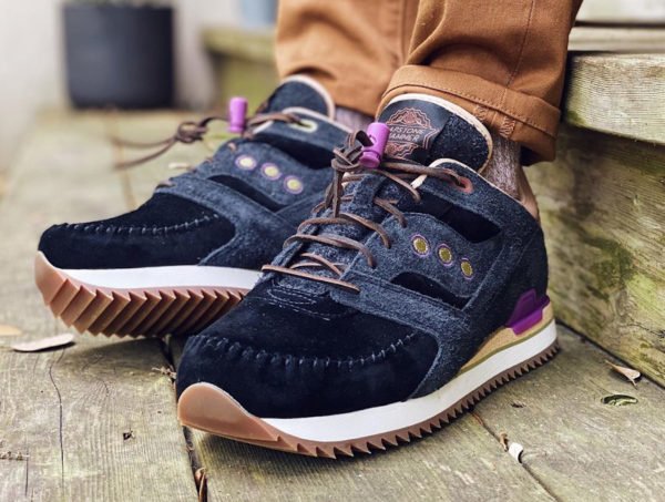 Saucony Courageous Moc Lapstone Hammer Two Rivers S70506-1