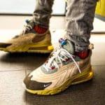 Travis Scott x Nike Air Max 270 React ENG Cactus Jack Trails