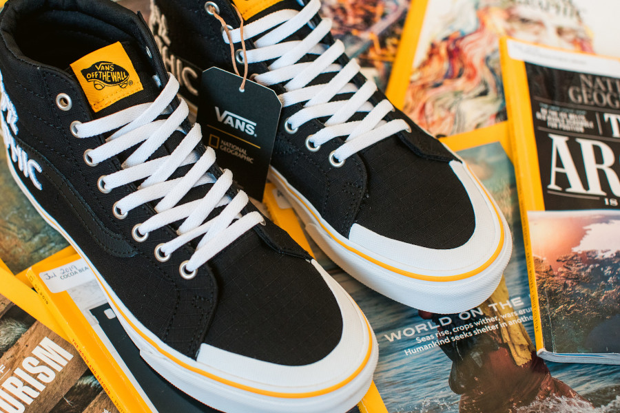 Vans SK8 Hi Reissue Black Yellow VN0A3TKPXHP1 (2)