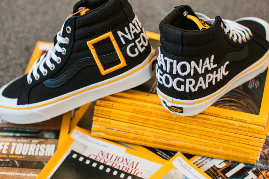 Vans SK8 Hi Reissue Black Yellow VN0A3TKPXHP1 (3)