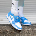 Women's Air Jordan 1 Low 'UNC' University Blue 2020