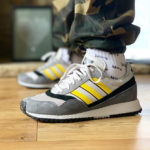 Adidas Ashurst SPZL Grey One Yellow Core Black