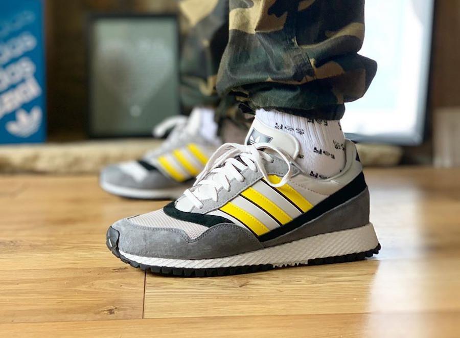 Adidas Ashurst SPZL Grey One Yellow Core Black FV5479