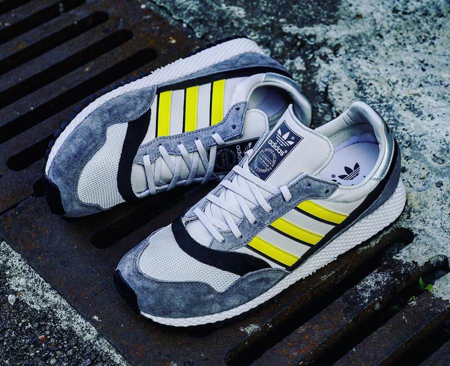 Adidas Ashurst Spezial grise jaune et nooire (3)