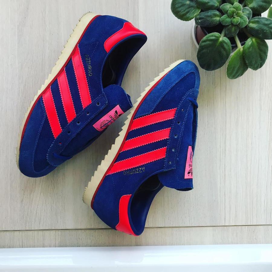 Adidas Azzurro OG vintage des années 70