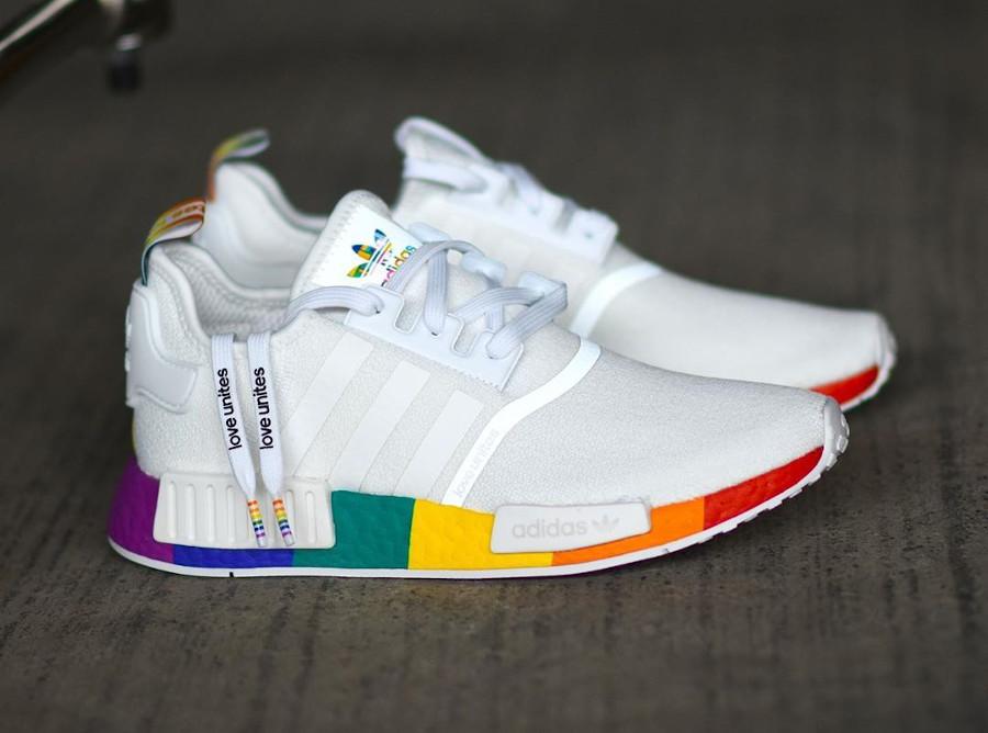 Adidas NMD R1 Pride Love Unites Rainbow Multicolor